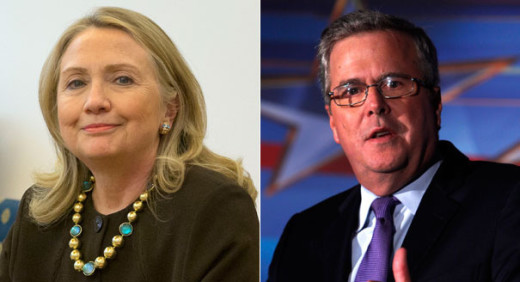 Hillary Clinton vs. Jeb Bush