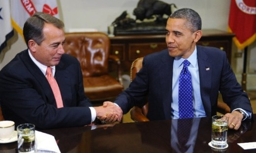 Obama and Boehner Image
