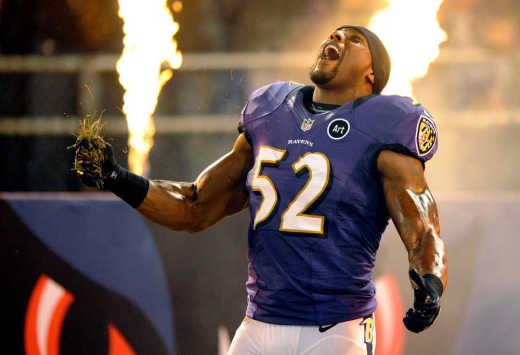 Ravens linebacker