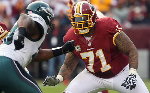 Trent Williams at Play