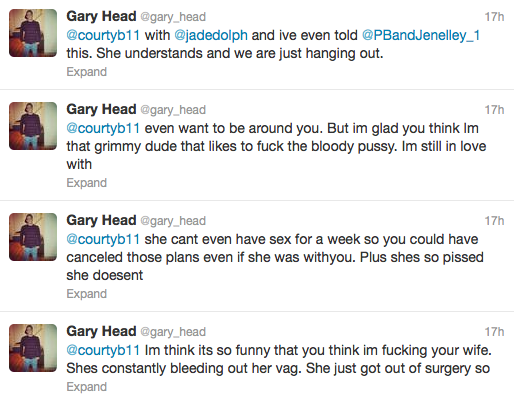 Gary Head Tweeting
