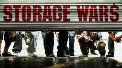 Storage Wars Logo A&E