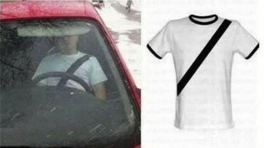 Seat Belt Shirt