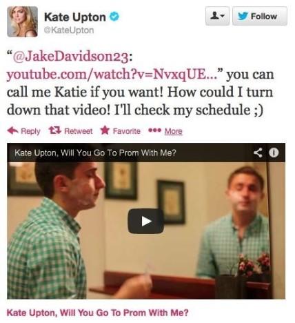 Kate Tweet!