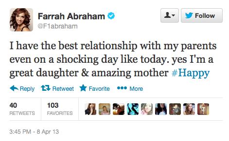 Farrah Twitter