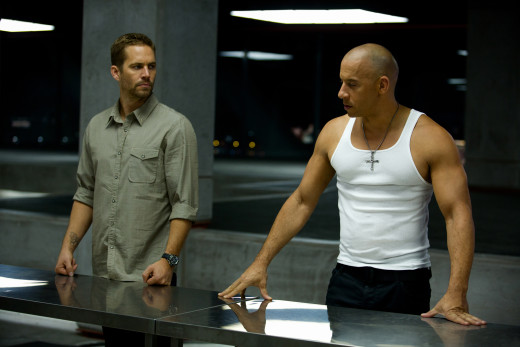 Vin Diesel and Paul Walker