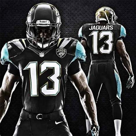 Jaguars New Uniforms