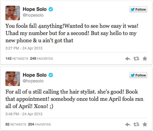 Hope S. Tweets