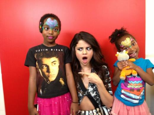 Selena Gomez and Justin Bieber Fan