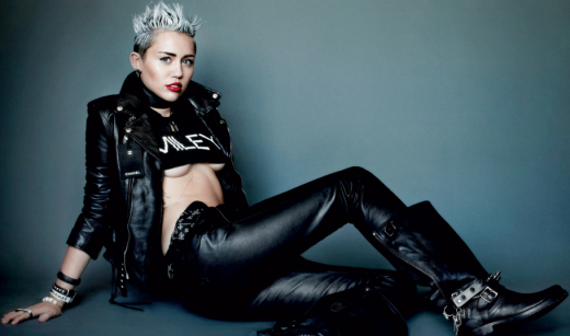 Miley Cyrus V Picture