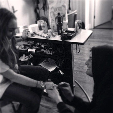 Lindsay Lohan Proposal (Fake)