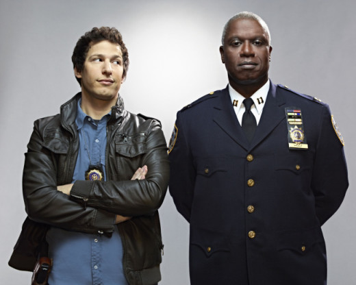 Andy Samberg and Andre Braugher