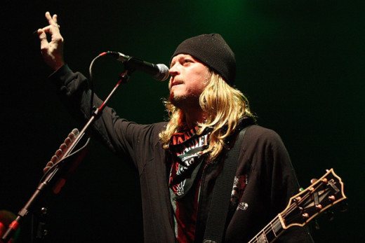 Wes Scantlin, Puddle of Mudd Singer, Arrested for Ex-Wife Abuse