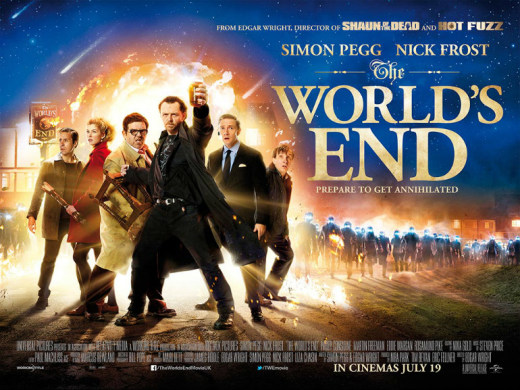 The World's End Quad Poster