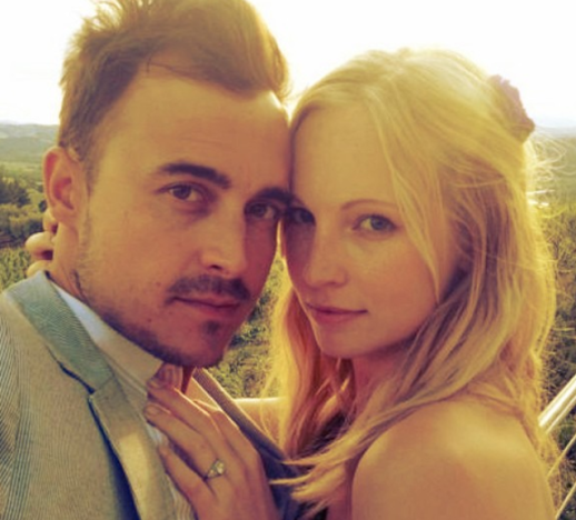 Candice Accola and Joe King