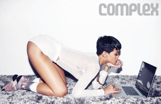 Rihanna Complex Photo