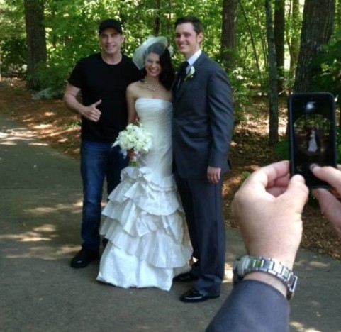John Travolta Wedding Crash