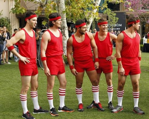 Bachelorette Dodgeball Game