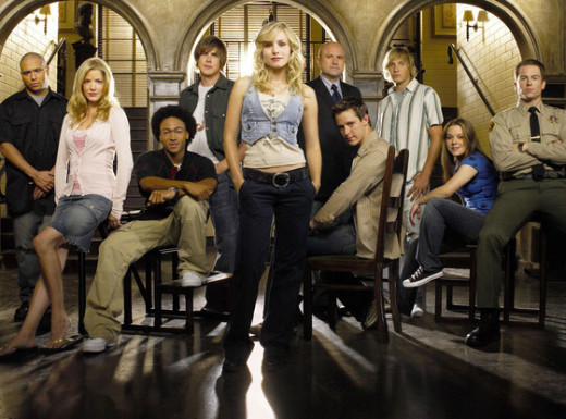 Veronica Mars Cast Photo