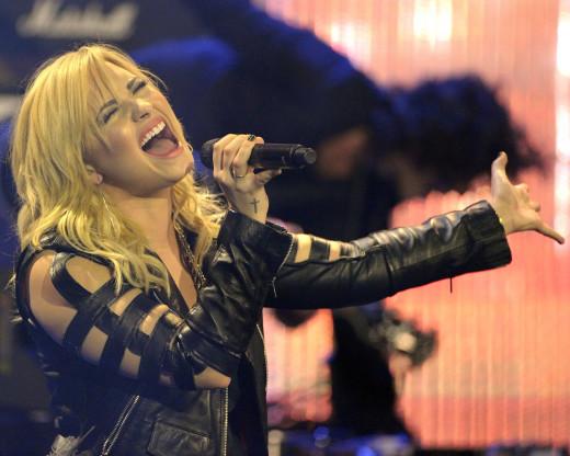 Demi Lovato Concert Image