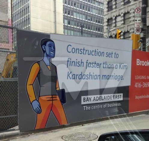Konstruction sign