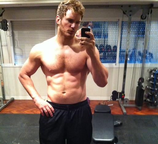 Chris Pratt Weight Loss Pic