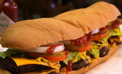 Long burger
