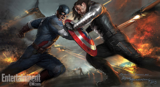 Captain America: The Winter Soldier Concept Art
