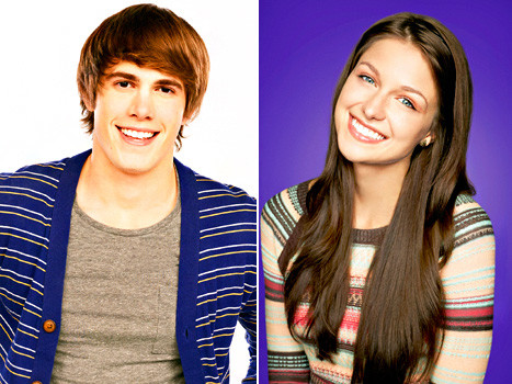 Blake Jenner and Melissa Benoist for Glee
