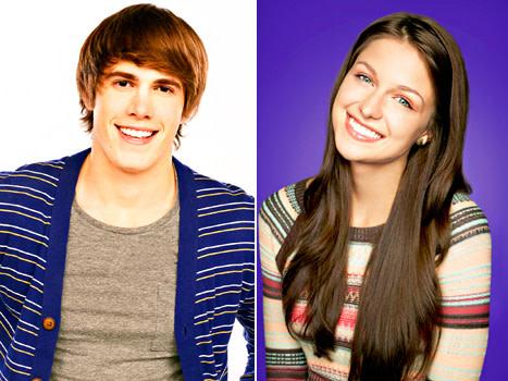 Blake Jenner and Melissa Benoist for Glee