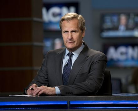 Jeff Daniels as Will McAvoy