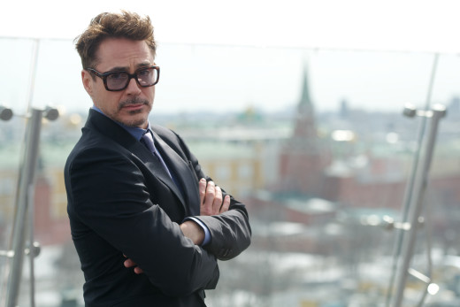Robert Downey Jr. Iron Man 3 Photocall