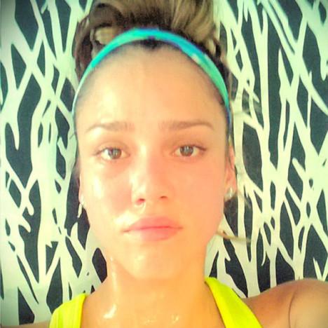 Jessica Alba No Makeup