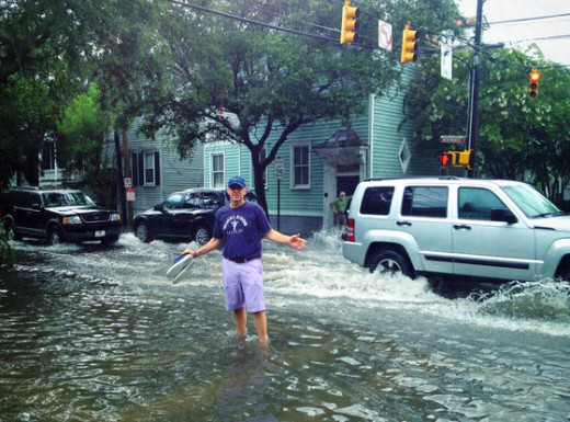 Kevin Spacey Flood Photo