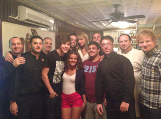 Taylor Swift Restaurant Stop