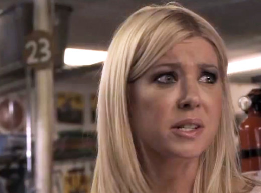 Tara Reid in Sharknado Picture