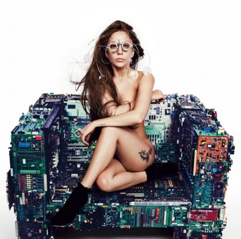Lady Gaga Nude Photograph