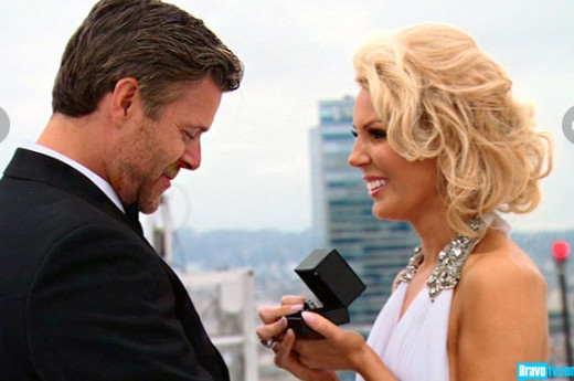 Gretchen Proposes to Slade