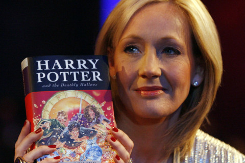 J.K. Rowling and Harry Potter Photo
