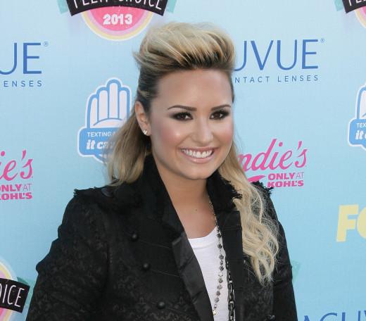Demi Lovato Teen Choice Awards Photo