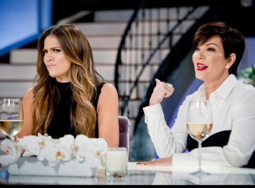 Kris and Khloe on Kris