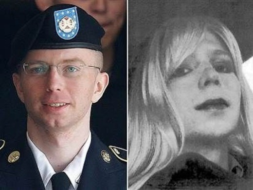 Bradley Manning Cross Dressing