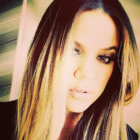 Khloe Kardashian Selfie