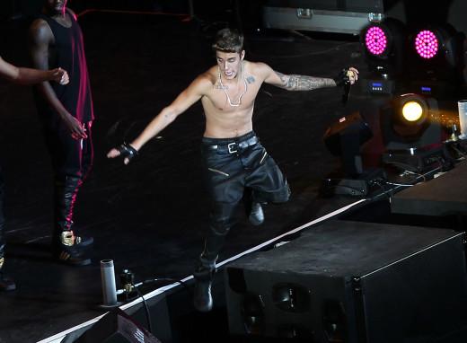 Justin Bieber  in Shanghai