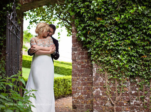 Kelly Clarkson and Brandon Blackstock Wedding Photo