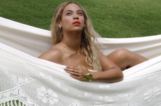 Beyonce Nude, Hammock Style