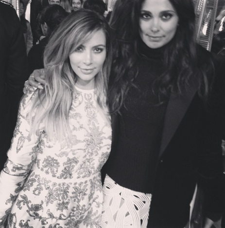 Rachel Roy and Kim Kardashian