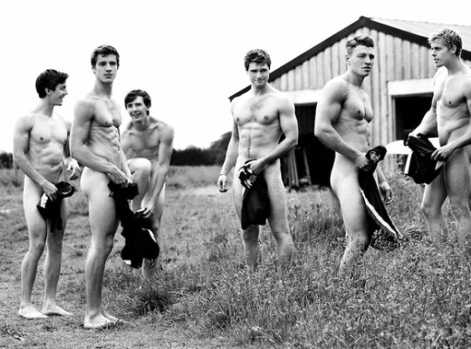 Naked Rowers