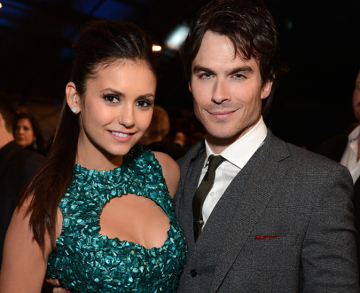 Ian Somerhalder and Nina Dobrev Together