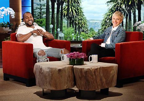Kanye and Ellen